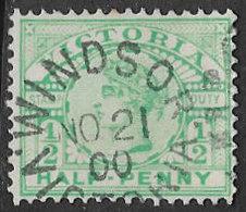 Victoria SG356 1899 Definitive ½d Good/fine Used [39/31927/6D] - 1850-1912 Victoria