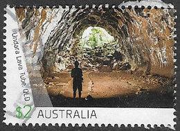 Australia 2017 Caves $2 Good/fine Used [39/31928/ND] - 2010-... Elizabeth II