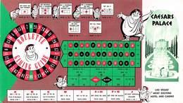 Caesars Palace Casino Las Vegas - Roulette Gaming Guide (slightly Damaged/used) - Las Vegas