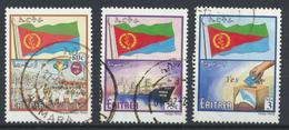 °°° ERITREA - Y&T N°454/56/57 - 2002 °°° - Eritrea