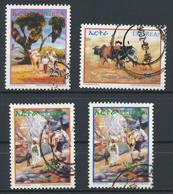 °°° ERITREA - Y&T N°480/82/86/87 - 2004 °°° - Eritrea