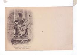 01 CHATILLON Sur CHALARONNE Statue De Saint Vincent De Paul - Châtillon-sur-Chalaronne