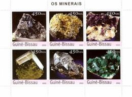 Guinea Bissau 2003 Minerals - Guinea-Bissau