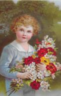 AK 0156  Blumenkind - Künstlerkarte Um 1930 - Abbildungen