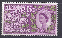 UK - GRAN BRETAGNA -  1963 - Yvert 372 Nuovo MNH. - 1952-.... (Elizabeth II)