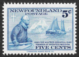 Newfoundland - Scott #252 MNH (2) - 1908-1947