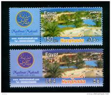 EGYPT / 2013 & 2008 SPECIAL ISSUE / TOURISM / HURGHADA / MAKADI ( RESORT ; GOLF & SPA ) / MNH / VF  . - Ungebraucht