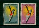 SYRIA / 1965 / PALESTINE / MASSACRE OF DEIR YASSIN  / DAGGER / MAP / MNH / VF - Syria
