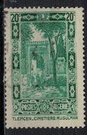ALGERIE        N°  YVERT     N °  107    (1)         OBLITERE       ( O   2/ 27 ) - Algérie (1924-1962)