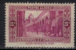 ALGERIE        N°  YVERT     N °  108         OBLITERE       ( O   2/ 27 ) - Algérie (1924-1962)