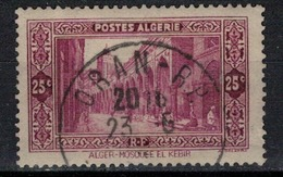 ALGERIE        N°  YVERT     N °  108       ( 4 )   OBLITERE       ( O   2/ 27 ) - Algérie (1924-1962)