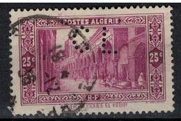 ALGERIE        N°  YVERT     N °  108       ( 5 )   OBLITERE       ( O   2/ 27 ) - Algérie (1924-1962)