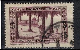 ALGERIE        N°  YVERT     N °  110    OBLITERE       ( O   2/ 27 ) - Algérie (1924-1962)