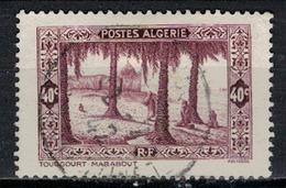 ALGERIE        N°  YVERT     N °  110    (1)    OBLITERE       ( O   2/ 27 ) - Algérie (1924-1962)