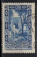 ALGERIE        N°  YVERT     N °  111 ( 1 )            OBLITERE       ( O   2/ 28 ) - Algérie (1924-1962)