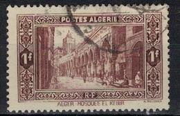 ALGERIE        N°  YVERT     N °  116   ( 1 )      OBLITERE       ( O   2/ 28 ) - Algérie (1924-1962)