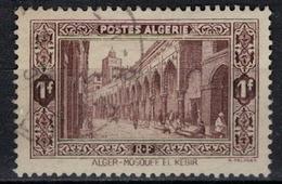ALGERIE        N°  YVERT     N °  116   ( 3 )      OBLITERE       ( O   2/ 28 ) - Algérie (1924-1962)