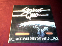 STATUS QUO  °  ROCKIN' ALL OVER THE WORLD   PRESSAGE ESPAGNE - Rock
