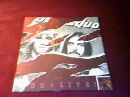 STATUS QUO  °  UO + LIVE  ALBUM DOUBLE - Rock