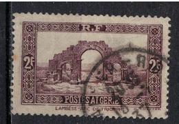 ALGERIE        N°  YVERT    120  ( 1 )    OBLITERE       ( O   2/30 ) - Algérie (1924-1962)