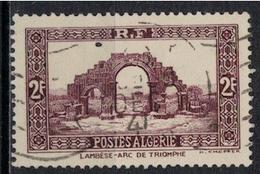 ALGERIE        N°  YVERT    120  ( 2 )    OBLITERE       ( O   2/30 ) - Algérie (1924-1962)