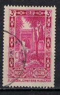 ALGERIE        N°  YVERT    122    OBLITERE       ( O   2/30 ) - Algérie (1924-1962)
