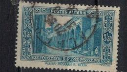 ALGERIE        N°  YVERT    123          OBLITERE       ( O   2/30 ) - Algérie (1924-1962)