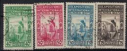 ALGERIE        N°  YVERT    127/130     OBLITERE       ( O   2/31 ) - Algérie (1924-1962)