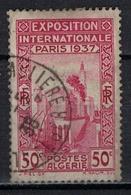 ALGERIE        N°  YVERT    127        OBLITERE       ( O   2/31 ) - Algérie (1924-1962)