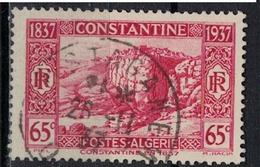 ALGERIE        N°  YVERT    131   OBLITERE       ( O   2/31 ) - Algérie (1924-1962)