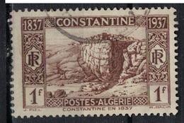 ALGERIE        N°  YVERT    132   OBLITERE       ( O   2/31 ) - Algérie (1924-1962)
