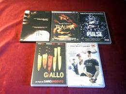 LOT DE 5 POUR  20  EUROS °°°  REF 309 - DVD