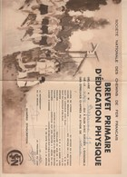 SOCIETE NATIONALE DE CHEMINS DE FER FRANCAIS...BREVET PRIMAIRE D'EDUCATION PHYSIQUE..AU STADE DE SOTTEVILLE - Diploma & School Reports