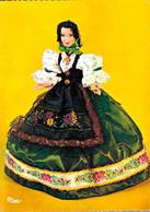Poupée De France Costume Folklorique Franc Comtoise  CPM Ou CPSM - Folklore
