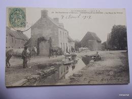 OMONVILLE LA ROGUE-La Place Du Village - Other Municipalities