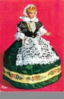 Poupée De France Costume Folklorique Vosgienne Vosges  CPM Ou CPSM - Folklore