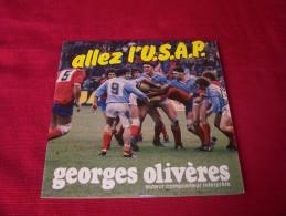 ALLEZ  L' USAP   PAR  GEORGES  OLIVERES - Rugby