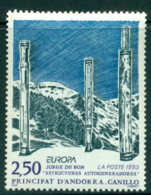 Andorra (Fr) 1993 Europa MUH Lot16032 - French Andorra