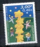 Andorra (Fr) 2000 Europa MUH - French Andorra