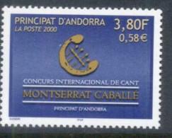 Andorra (Fr) 2000 Singing Conf MUH - French Andorra