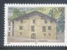 Andorra (Fr) 1999 Casa Rull, Sispony MUH - French Andorra