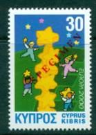 Cyprus 2000 Europa SPECIMEN MUH Lot23557 - Cyprus (Republic)