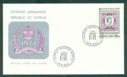 Cyprus 1977 Silver Jubilee FDC Lot50482 - Cyprus (Republic)