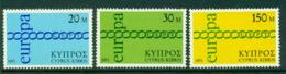 Cyprus 1971 Europa MUH Lot16735 - Cyprus (Republic)