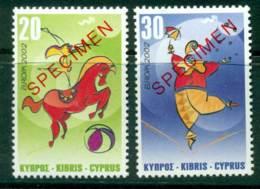 Cyprus 2002 Europa SPECIMEN MUH Lot23551 - Cyprus (Republic)