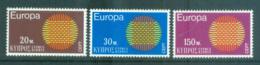 Cyprus 1970 Europa, Woven Threads MUH Lot65506 - Cyprus (Republic)
