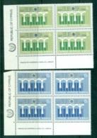 Cyprus 1984 Europa Cnr Blk 4 MUH - Cyprus (Republic)