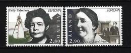 ALAND-INSELN - Mi-Nr. 113 - 114 Berühmte Frauen Postfrisch - Ålandinseln
