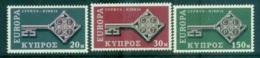 Cyprus 1968 Europa, Key With Emblem MUH Lot65464 - Cyprus (Republic)