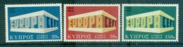 Cyprus 1969 Europa, Europa Building MUH Lot65490 - Cyprus (Republic)